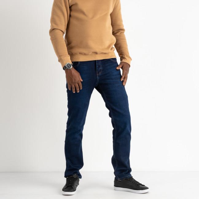 3023 Dsouaviet джинсы мужские на флисе полубатальные синие стейчевые ( 8 ед. размеры: 32.33/2.34/2.36/2.38 ) Dsouaviet: артикул 1114199