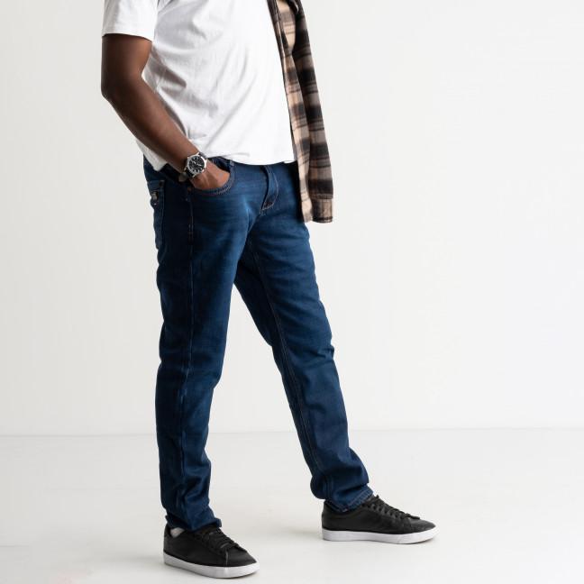 2131 Dsouaviet синие джинсы мужские стрейчевые на флисе (8 ед.размеры: 29.30.31.32.33.34.36.38) Dsouaviet: артикул 1125215