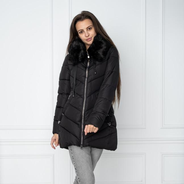 18806-1 черная куртка женская на синтепоне (4 ед. размеры: M.L.XL.XXL) Куртка: артикул 1124475