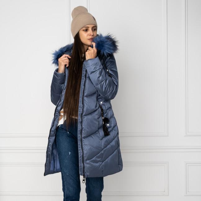 1939-4 голубая куртка женская на синтепоне (4 ед. размеры: M.L.XL.XXL) Куртка: артикул 1124487