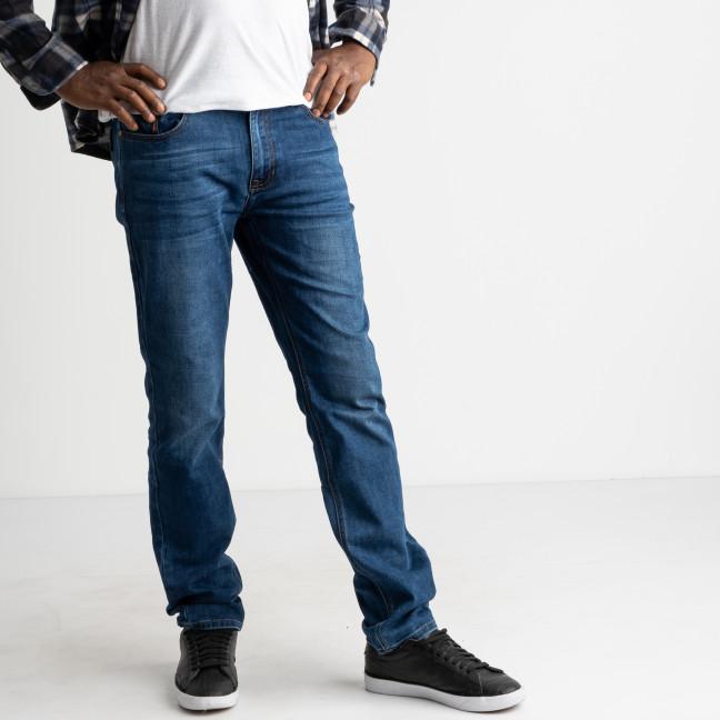 2113 V.J.Ray джинсы мужские голубые полубатальные котоновые (8 ед. размеры: 32.33/2.34/2.36/2.38) V.J.Ray: артикул 1124491
