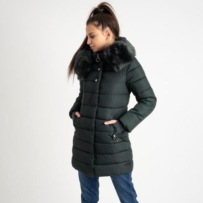 1089 зеленая куртка женская на синтепоне (4 ед. размеры: M.L.XL.XXL) Куртка: артикул 1124479