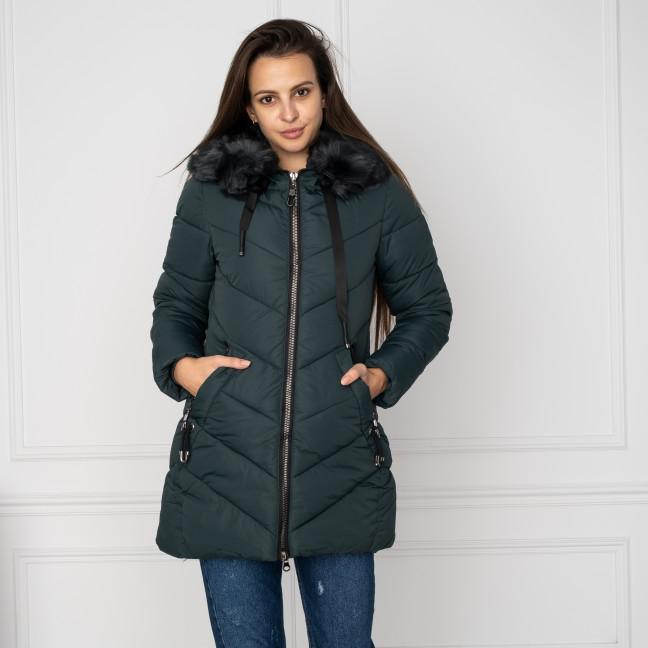 18806-3 зеленая куртка женская на синтепоне (4 ед. размеры: M.L.XL.XXL) Куртка: артикул 1124476