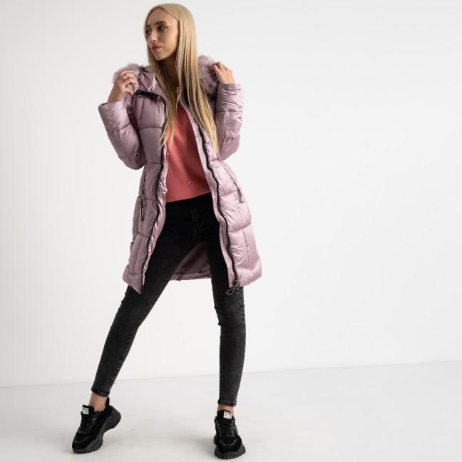 1983-5 розовая куртка женская на синтепоне (5 ед.размеры: M.L.XL.2XL.3XL) Куртка: артикул 1124529