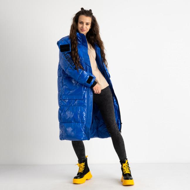 0994-1 YouLiFa синяя куртка женская на синтепоне (4 ед.размеры: M.L.XL.XXL) Куртка: артикул 1124566