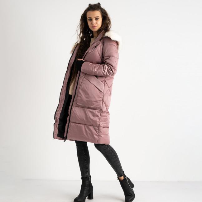9907-2 M&X пудровая куртка женская на синтепоне (4 ед.размеры: M.L.XL.XXL) Куртка: артикул 1124540