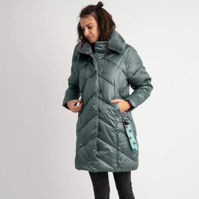 8801-2 хаки куртка женская на синтепоне (4 ед.размеры: M.L.XL.XXL) Куртка: артикул 1124554