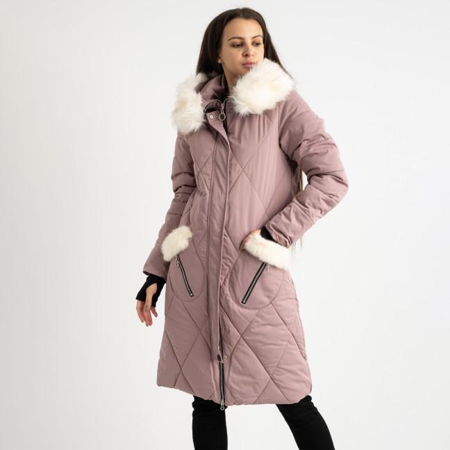 9915-3 розовая куртка женская на синтепоне (4 ед.размеры: M.L.XL.XXL) Куртка: артикул 1124517