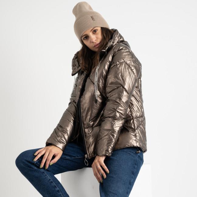 0910-2 Xuejiayi бронзовая куртка женская на синтепоне (4 ед.размеры: M.L.XL.XXL) Куртка: артикул 1124550