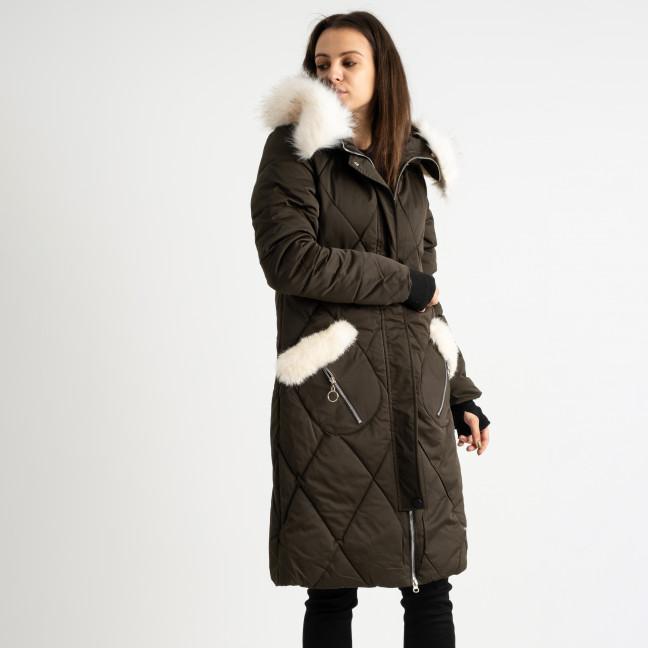 9915-4 хаки куртка женская на синтепоне (4 ед.размеры: M.L.XL.XXL) Куртка: артикул 1124518