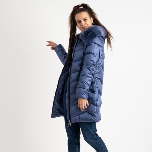 1985-3 L.Y.Xuege голубая куртка женская на синтепоне (5 ед.размеры: M.L.XL.XXL.3XL) Куртка: артикул 1124521