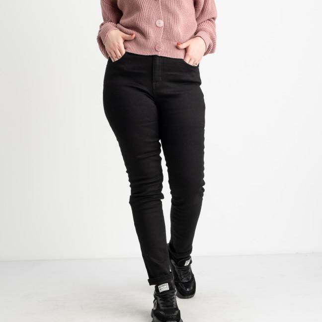 6037 New Jeans американка черная батальная стрейчевая (6 ед.размеры: 31.32.33.34.35.36) New Jeans: артикул 1124613