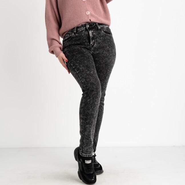 6025 New Jeans американка на флисе батальная серая стрейчевая (6 ед.размеры: 31.32.33.34.35.36) New Jeans: артикул 1124610