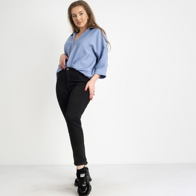 0942 KT.Moss джинсы женские батальные черные стрейчевые на флисе (6 ед.размеры: 31.32.33.34.36.38) KT.Moss: артикул 1124632
