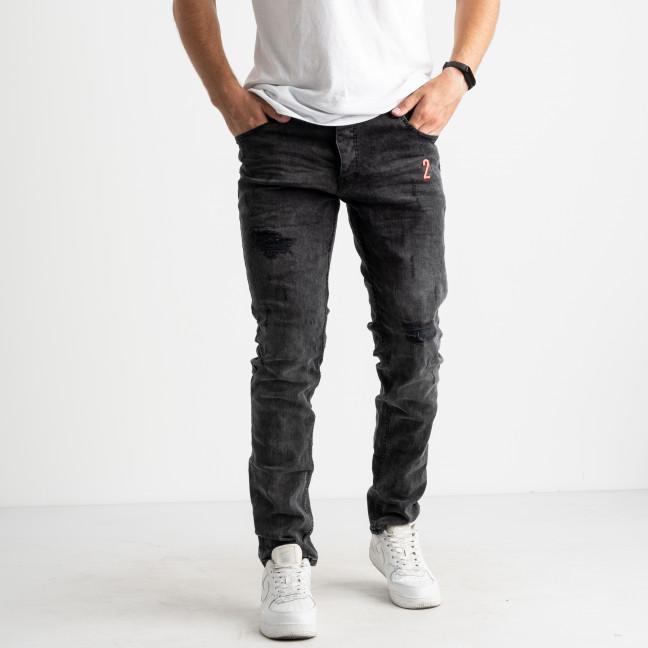 0180-1 S.Republic джинсы серые мужские стрейчевые (10 ед.размеры: 29.30/2.31/2.32/2.33.34.36) Джинсы: артикул 1124590