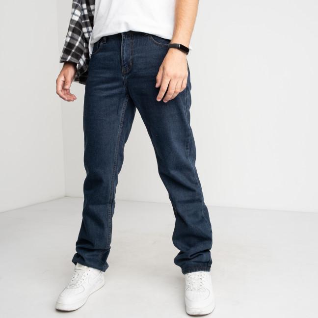 2132 V.J Ray синие джинсы мужские котоновые (8 ед.размеры:32.33.34.36/2.38.40.42) V.J.Ray: артикул 1124691