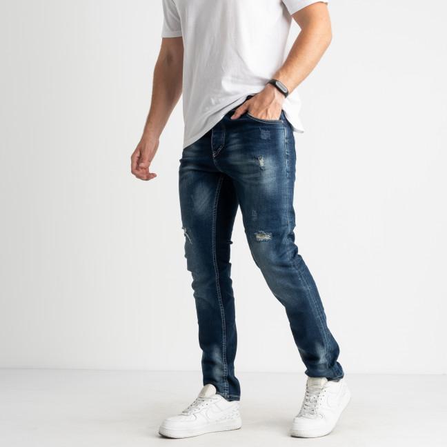 0210 S.Republic джинсы синие мужские стрейчевые (10 ед.размеры: 29.30/2.31/2.32/2.33.34.36) Джинсы: артикул 1124588