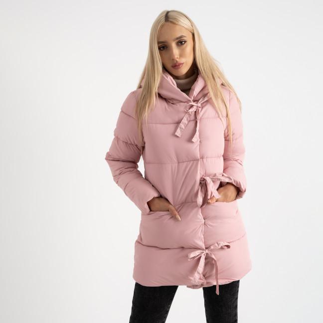 1915-5 розовая куртка женская на синтепоне (4 ед. размеры: M.L.XL.2XL) Куртка: артикул 1124718