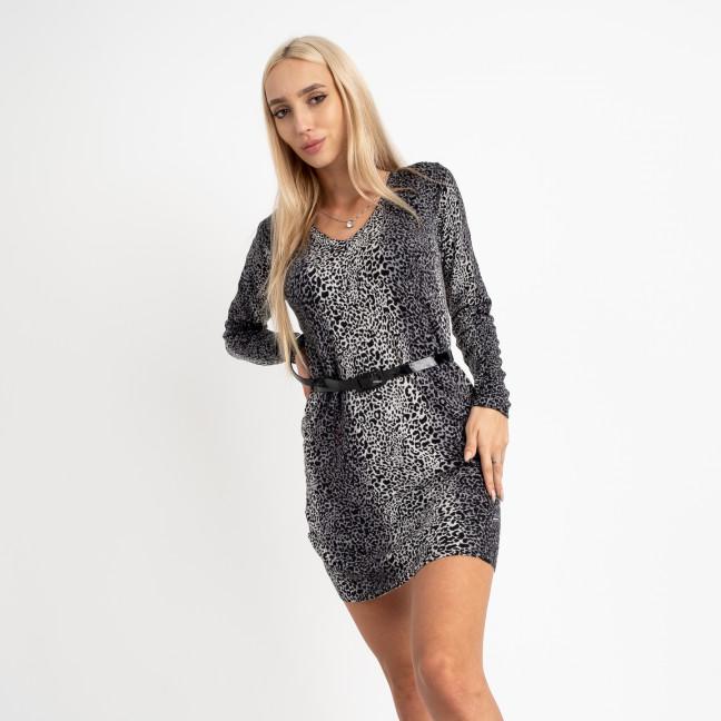 5661 леопардовое платье (5 ед.размеры: универсал 46-48) Платье: артикул 1124217
