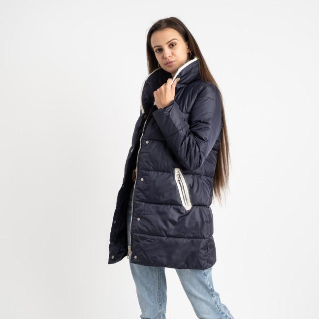 8919-2 синяя куртка женская на синтепоне (4 ед. размеры: M.L.XL.2XL) Куртка: артикул 1124742