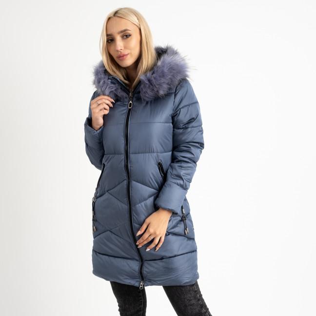 1905-3 голубая куртка женская на синтепоне (4 ед. размеры: M.L.XL.2XL) Куртка: артикул 1124723