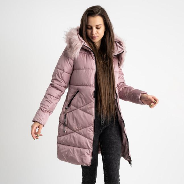 1905-5 розовая куртка женская на синтепоне (4 ед. размеры: M.L.XL.2XL) Куртка: артикул 1124724
