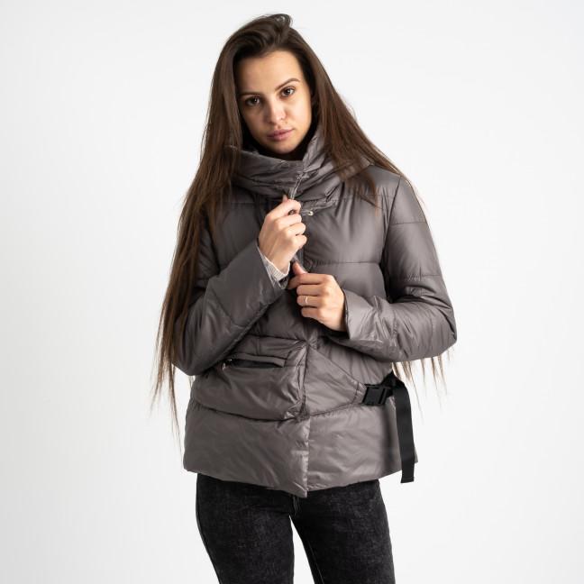 0887-2 серая куртка женская на синтепоне (4 ед. размеры: M.L.XL.2XL) Куртка: артикул 1124731