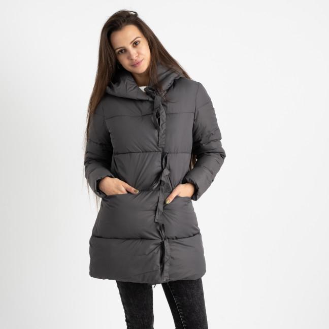 1915-2 серая куртка женская на синтепоне (4 ед. размеры: M.L.XL.2XL) Куртка: артикул 1124715