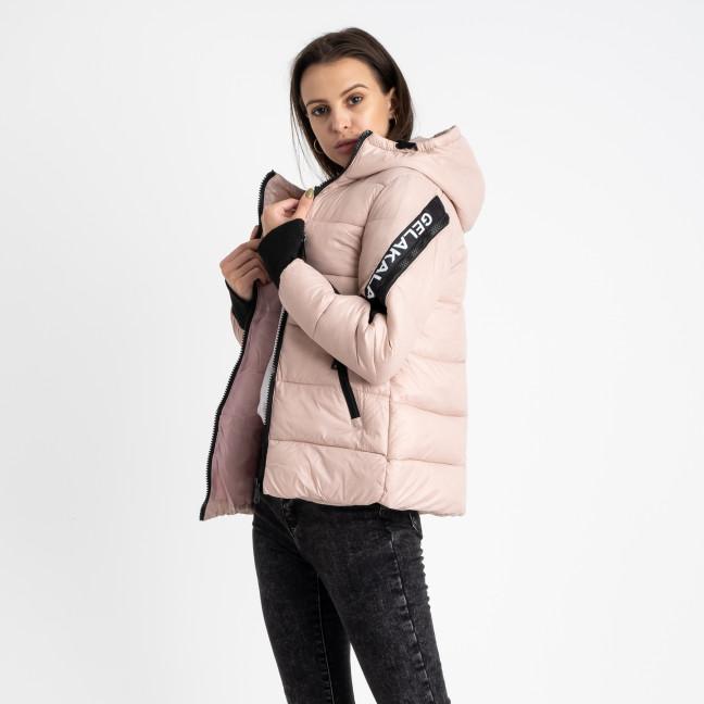 0803-3 розовая куртка женская на синтепоне (4 ед. размеры: M.L.XL.2XL) Куртка: артикул 1124795