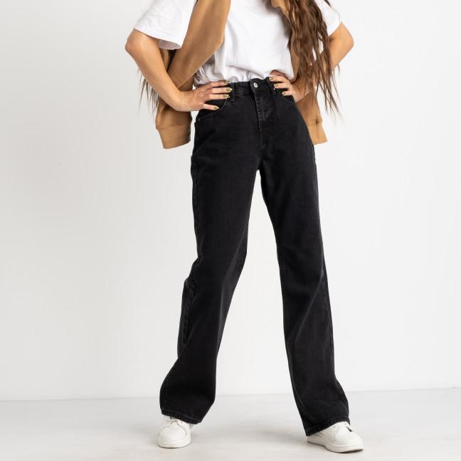 6497  джинсы-трубы темно-серые котоновые (8 ед. размеры: 25.26/2.28/2.30/2.32) Джинсы: артикул 1124850