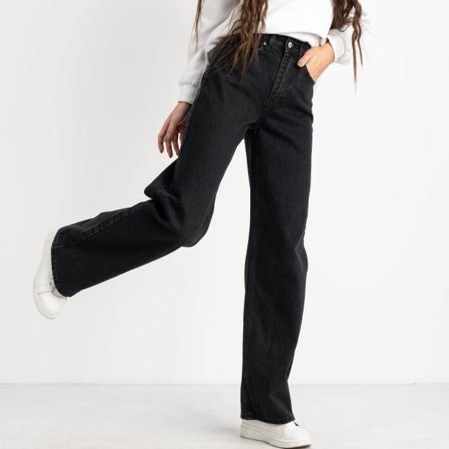 6761 джинсы-клеш темно-серые котоновые (8 ед.размеры: 25.26/2.28/2.30/2.32) Джинсы: артикул 1124828