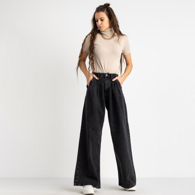 0305-60 MoonArt джинсы-клеш темно-серые котоновые (6 ед. размеры: 25.26.27.28.29.30) MoonArt: артикул 1124821