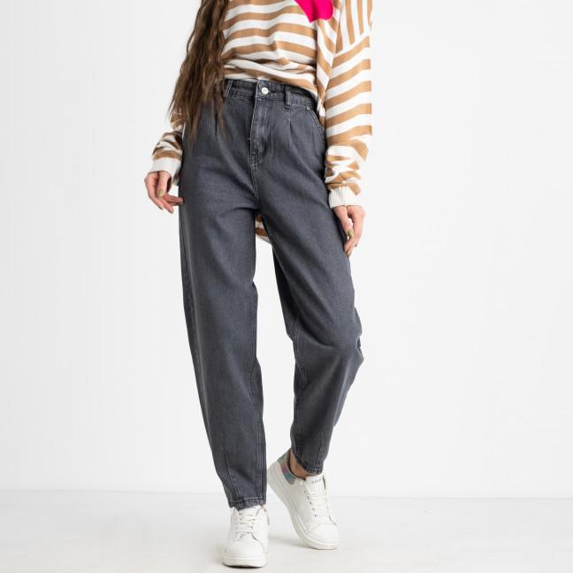 6707 джинсы-баллоны серые котоновые  (8 ед .размеры: 25.26/2.28/2.30/2.32) Джинсы: артикул 1124827