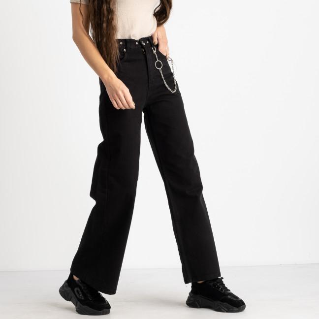 0511 Gecce джинсы-клёш женские черные котоновые (8 ед. размеры: 36/2.38/2.40/2.42/2) Gecce: артикул 1124453