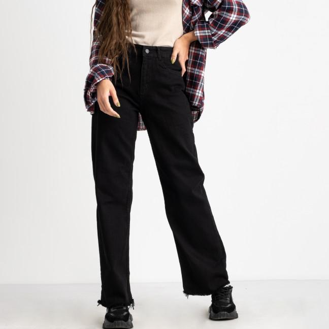 2226 Jean Shop джинсы-трубы черные стрейчевые (8 ед.размеры: 25.26/2.28/2.30/2.32) Jean Shop: артикул 1124832
