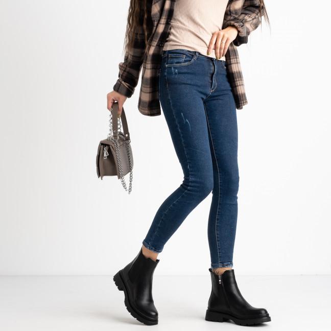 1702-13 Arox синие джинсы женские стрейчевые (6 ед.размеры:26.27.28.29.30.31) Arox: артикул 1124957