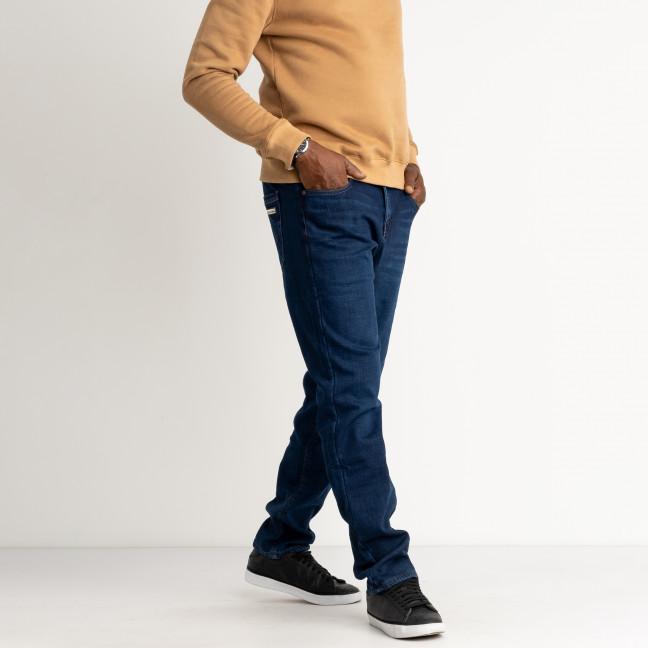 2135 Dsouaviet синие джинсы мужские на флисе стрейчевые  (8 ед. размеры: 29.30.31.32.33.34.36.38) Dsouaviet: артикул 1125285