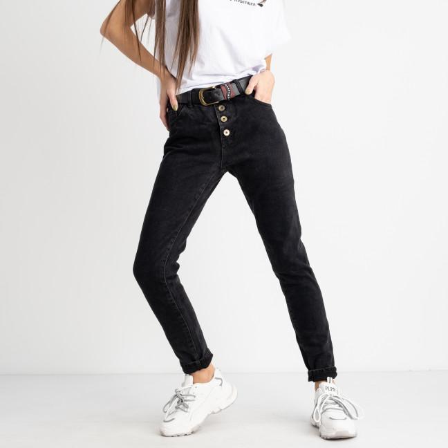 9083 LDM темно-серые джинсы женские котоновые (6 ед. размеры: 25.26.27.28.29.30)  LDM: артикул 1125072