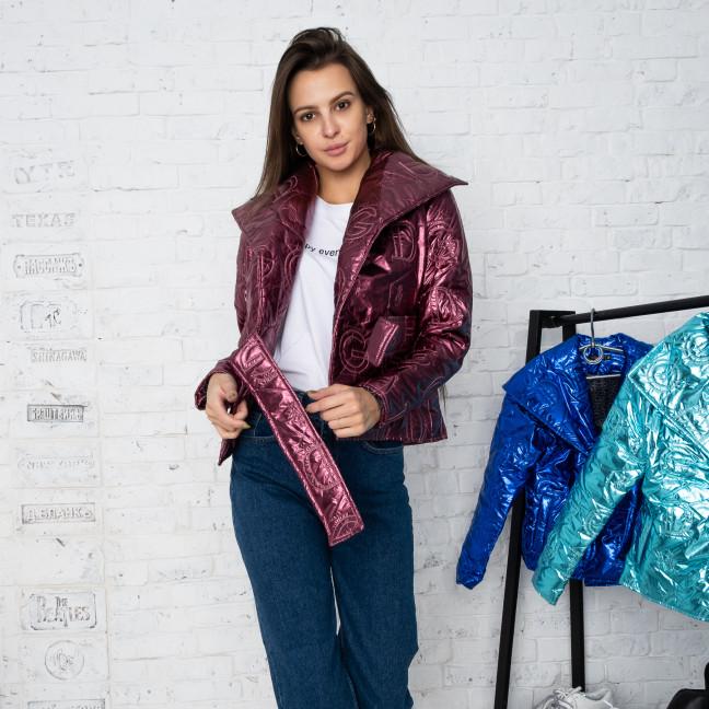 5060-97 бордовая  куртка женская  (3 ед.размеры: S-M) Куртка: артикул 1125158