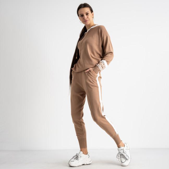 1611-3 M.K.Store мокко спортивный костюм женский (3 ед.размеры: универсал 44-48) M.K.Store: артикул 1125246