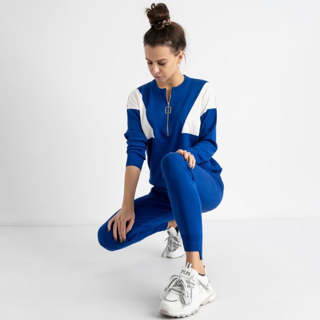 2110-2 M.K.Store синий спортивный костюм женский  (3 ед.размеры: универсал 44-48) M.K.Store: артикул 1125237
