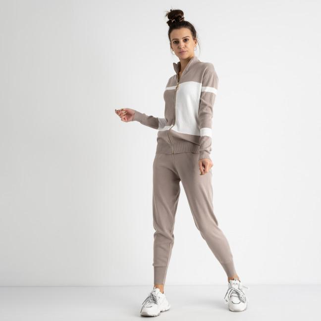 1601-2 M.K.Store серый спортивный костюм женский (3 ед.размеры: универсал 44-48) M.K.Store: артикул 1125249