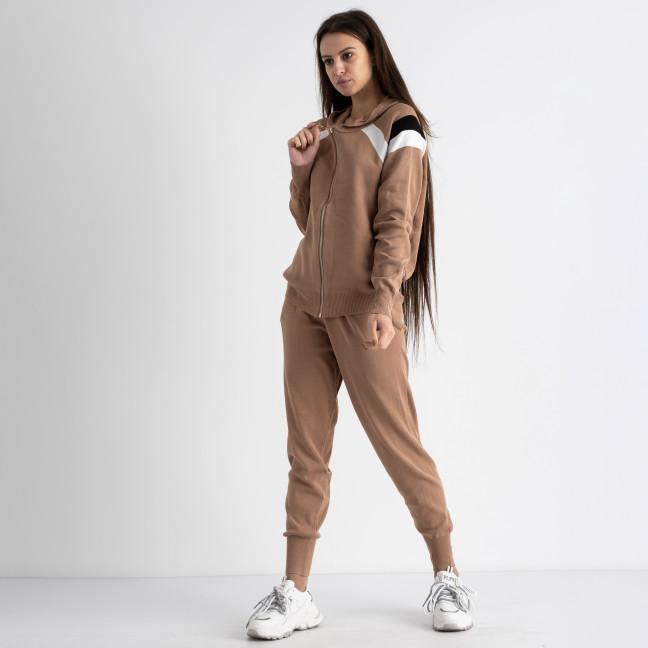 1602-2 M.K.Store мокко спортивный костюм женский (3 ед.размеры: универсал 44-48) M.K.Store: артикул 1125227