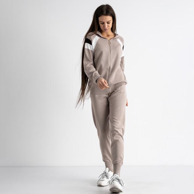 1602-4 M.K.Store бежевый спортивный костюм женский (3 ед.размеры: универсал 44-48) M.K.Store: артикул 1125229