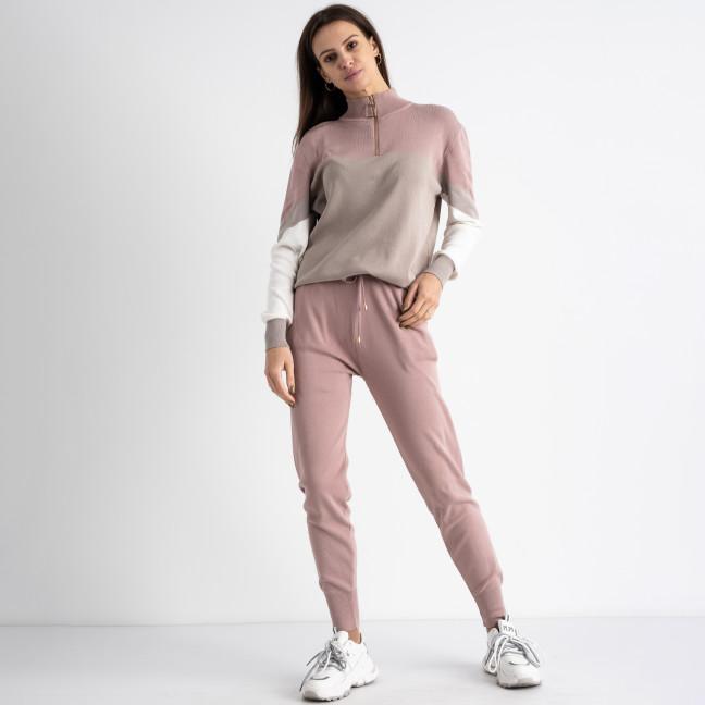 2105-2 M.K.Store розовый спортивный костюм женский (3 ед.размеры: универсал 44-48) M.K.Store: артикул 1125263