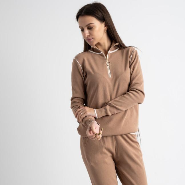 1610-5 M.K.Store мокко спортивный костюм женский (3 ед.размеры: универсал 44-48) M.K.Store: артикул 1125235