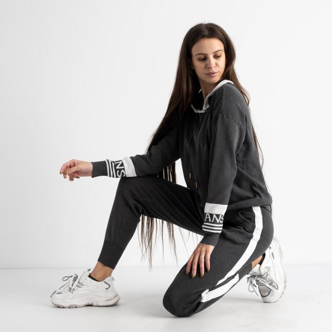 1611-1 M.K.Store темно-серый спортивный костюм женский (3 ед.размеры: универсал 44-48) M.K.Store: артикул 1125244
