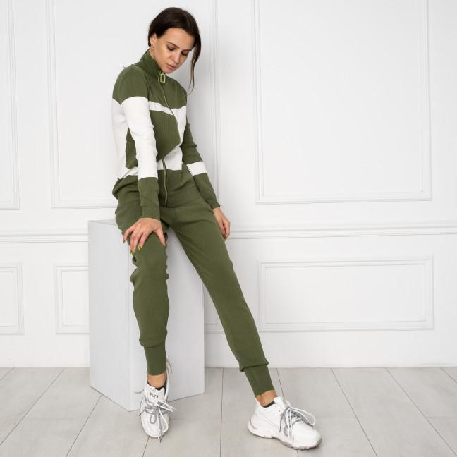 1601-4 M.K.Store зеленый спортивный костюм женский (3 ед.размеры: универсал 44-48) M.K.Store: артикул 1125251