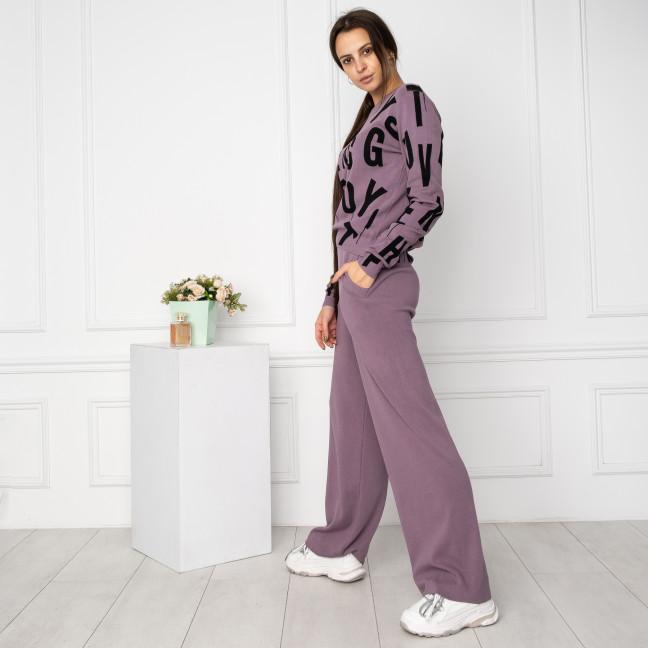 1608-3 M.K.Store филетовый спортивный костюм женский (3 ед.размеры: универсал 44-48) M.K.Store: артикул 1125257