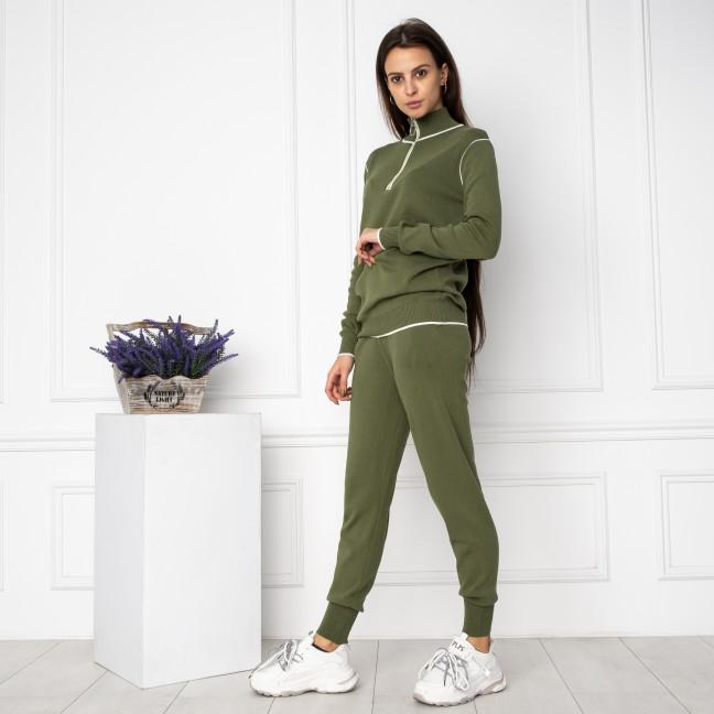 1610-3 M.K.Store зеленый спортивный костюм женский (3 ед.размеры: универсал 44-48) M.K.Store: артикул 1125233
